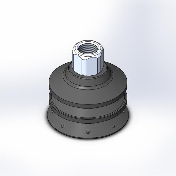 Multi-Bellows Vacuum Cup Assemblies
